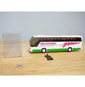 Rietze 2x88-050 , autocar de voyage NEOPLAN Cityliner  N116  MELCHINGER Reisen    Neuf   BO