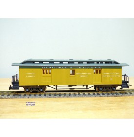 RIVAROSSI  2992,  fourgon à bagages ( baggage car )ancien Virginia & Truckee  neuf   BO