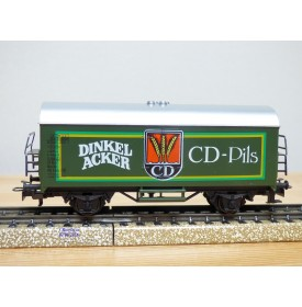 Märklin  4436,  wagon couvert réfrigérant  Ichqrs 377 DINCKELACKER CD-Pils  DB   Neuf   BO