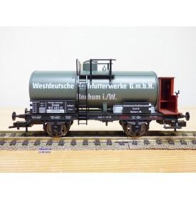 FLEISCHMANN 83 5802 K,  wagon citerne ancien  à guérite  Westdeutsche Kraftfutterwerke G.m.b.H.    DR   BO