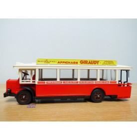 SOLIDO 1101, autobus Renault TN6C 1934  Neuf  BO