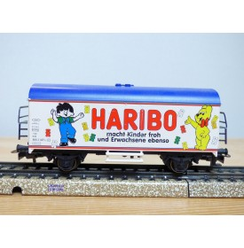 Märklin  44174,  wagon couvert réfrigérant  Ichqrs 377 HARIBO   DB   Neuf    BO