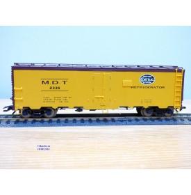 TRIX  24902-9 , wagon couvert  réfrigérant ( reefer  )     NYC    Neuf   BO