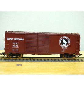 TRIX  24902-8 , wagon couvert ( boxcar )  Great Northern  GN      Neuf   BO