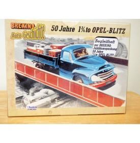 BREKINA 90383, coffret de 5 camions Cinquantenaire de l' OPEL Blitz  1 3/4  Neuf   BO  1/87   HO