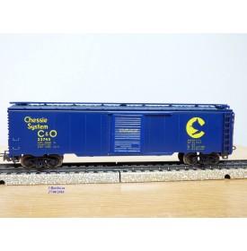Märklin   4564 . 1, wagon couvert ( boxcar ) Chessie System  C&O Cheasapeake and Ohio  neuf   BO