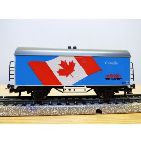 Märklin  89744 / 4415,  wagon couvert réfrigérant   CANADA Märklin Club  89  neuf    BO