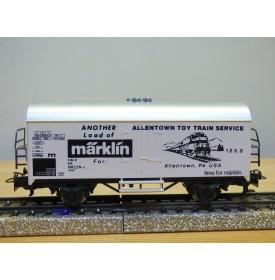 Märklin  83518 / 4415,  wagon couvert réfrigérant ALLENTOWN TOY TRAIN SERVICE   neuf    BO
