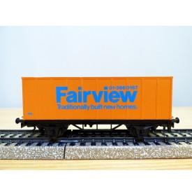 Märklin  87702 / 4481,  wagon plat porte conteneur FAIRVIEW   BO