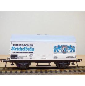 FLEISCHMANN 5046, wagon couvert type Hkqrs  KULMBACHER REICHELBRÄU   DB   neuf   BO