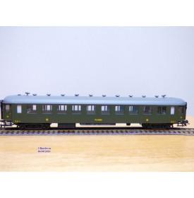 France Trains  294,  voiture OCEM à flancs lisses 3ème classe à portes sanitaires  type C10  P.O.-MIDI   neuf   BO