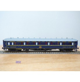 France Trains  303,  voiture lits type LX  inscriptions en italien N° 3511    CIWL