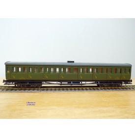 France Trains  214, voiture à portières latérales 1 ère / 2 ème  classe  type Ty  EST   BO