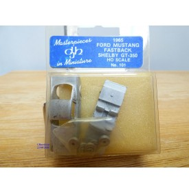 DJH  101, rare kit en métal de la FORD MUSTANG FASTBACK SHELBY GT-350    neuf   BO  HO  1/87