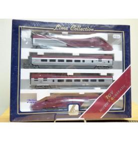 Lima Collection  149704,  rame automotrice TGV THALYS  PBKA  à 4 éléments neuf  BO