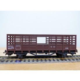 SMCF ???, wagon tombereau à claire voies   type    SNCF