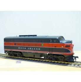 STEWART HOBBIES 8530, loco diesel  BoBo  EMD  F3A   Phase II   Rock Island   Neuf     BO