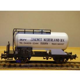 LILIPUT 250 43, wagon citerne Zinkwit  Nederland  NS  neuf BO