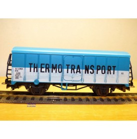 LILIPUT 221 80 , wagon couvert réfrigérant   type Grfu  THERMOTRANSPORT  SJ  neuf   BO