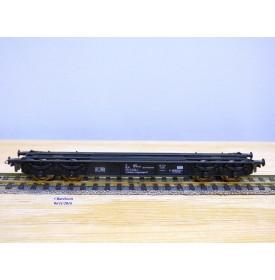BEMO 2401, wagon plat pour transport de véhicules à voie étroite  type 201  DB   neuf   BO