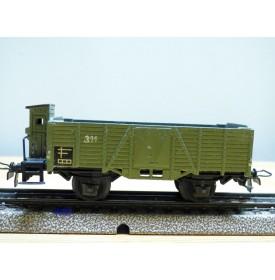 Märklin ancien  311 H b (g) . 7, wagon tombereau  DB
