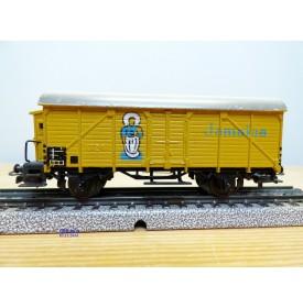 Märklin 326.3,  wagon couvert  à guérite  pour transport de bananes Jamaica  DB