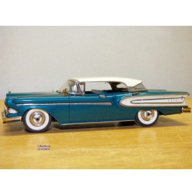 MINI MARQUE / illustra  GRB 22, Edsel Citation 4 Door 1958  Met Spruce Green / Snow White   neuf    BO