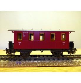 MÄRKLIN   4108,   voiture ancienne à plate forme d'extrémité  à 2 essieux  Chemins de fer privés  neuf  BO