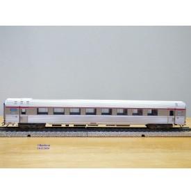 MÄRKLIN   41875-01,  rare voiture grandes lignes  INOX  PBA   A8u 33   L' Oiseau Bleu   SNCF  BO