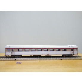 MÄRKLIN   41875-02,  rare voiture grandes lignes  INOX  PBA   A8u 31   L' Oiseau Bleu   SNCF  BO