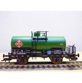 FLEISCHMANN 5425  K,  wagon citerne ancien  à plate forme de serre freins  THORL     DB    neuf  BO