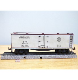 TRIX TWIN RAILWAY  TTR  686, wagon couvert réfrigérant  US    N° 23465