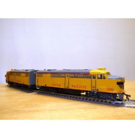 FLEISCHMANN 1341/2 U-1,  couplage locos diesel ALCO FA1 A+A   UNION PACIFIC