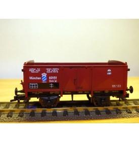 FLEISCHMANN 5883 K,  wagon tombereau type Omk [u]     K.B.Sts.B.   neuf  BO