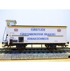 Märklin 4892,  wagon couvert à guérite Fürstlich Fürstenbergische Brauerei Donaueschingen  Baden   Neuf  BO