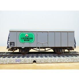 LILIPUT 223 / 221LI, wagon couvert réfrigérant    LIESINGER BIER  neuf   BO