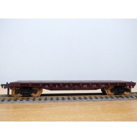 FLEISCHMANN 1425-1b, wagon plat ( flat car ) New York Central   NYC   neuf  BO