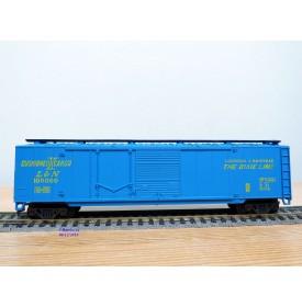 AHM ( Mehano ) 5422F, wagon couvert ( box car ) 50 ' Louisville and Nashville The Dixie Line   neuf   BO  neuf     BO