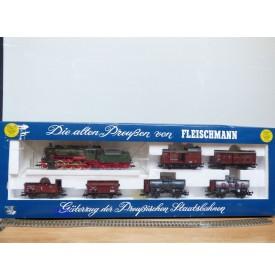 FLEISCHMANN  4884, coffret   Güterzug der  Preussischen Staatsbahnen KPEV   neuf    BO