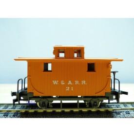 AHM / RIVAROSSI  6252, wagon de queue ( caboose )  W&A   Western and Atlanta  neuf     BO