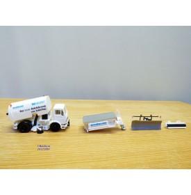 """HERPA  806063,  camion d' entretien de voirie et accessoires    """" SCHÖRLING """"   Neuf   BO   1/87"""
