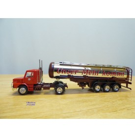HERPA  140539,  camion et semi remorque SCANIA  ELLMÜHLE   Neuf   BO  1/87