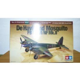 TAMIYA   60747  DE  HAVILAND Mosquito FB Mk.VI  NF Mk.II Neuf  BO 1/72