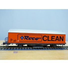 ROCO 46400,  wagon couvert type Hbis-vxy  ROCO CLEAN     SBB  BO