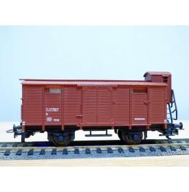 LILIPUT 213 80, wagon couvert à guérite  SJ  neuf   BO