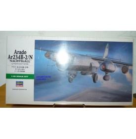 """HASEGAWA 09085 Bombardier ARADO  Ar234 B-2/N """"Nachtigall""""  Luftwaffe Neuf BO 1/48"""