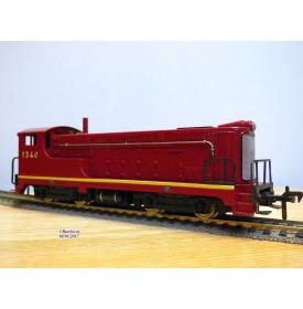 FLEISCHMANN 1340 R, loco diesel Baldwin rouge foncé 1340