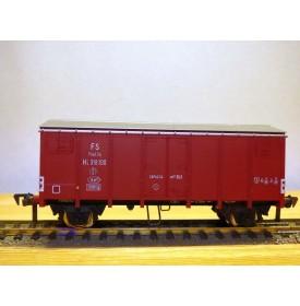 FLEISCHMANN 1479 R,  wagon couvert  type  Hcg  marron   FS  neuf   BO