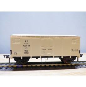 FLEISCHMANN 1479   wagon couvert  type  Hcg blanc   FS  neuf   BO