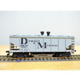 AHM ( Austria ) 5203 B , original wagon nettoyeur de voie   Detroit & MacKinac   neuf     BO